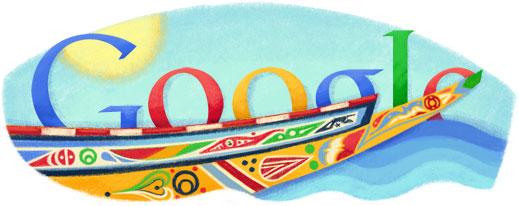 Google Logo: 2011 Senegal Independence Day